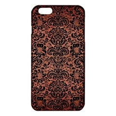 Damask2 Black Marble & Copper Brushed Metal (r) Iphone 6 Plus/6s Plus Tpu Case by trendistuff