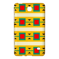 Connected Squares And Triangles 			samsung Galaxy Tab 4 (8 ) Hardshell Case by LalyLauraFLM