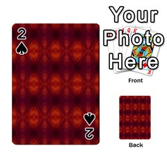 Brown Diamonds Pattern Playing Cards 54 Designs