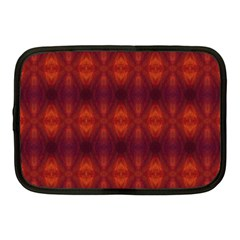 Brown Diamonds Pattern Netbook Case (medium)  by Costasonlineshop