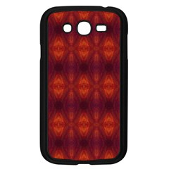 Brown Diamonds Pattern Samsung Galaxy Grand Duos I9082 Case (black) by Costasonlineshop