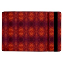 Brown Diamonds Pattern Ipad Air Flip by Costasonlineshop