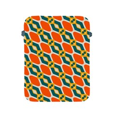 Chains And Squares Pattern 			apple Ipad 2/3/4 Protective Soft Case by LalyLauraFLM