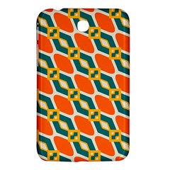 Chains And Squares Pattern 			samsung Galaxy Tab 3 (7 ) P3200 Hardshell Case by LalyLauraFLM