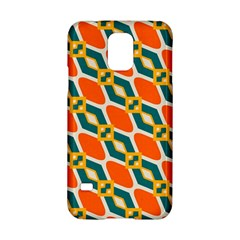 Chains And Squares Pattern 			samsung Galaxy S5 Hardshell Case by LalyLauraFLM