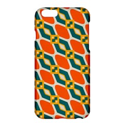 Chains And Squares Pattern 			apple Iphone 6 Plus/6s Plus Hardshell Case by LalyLauraFLM