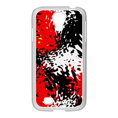 Glass Texture  			samsung Galaxy S4 I9500/ I9505 Case (white) by LalyLauraFLM