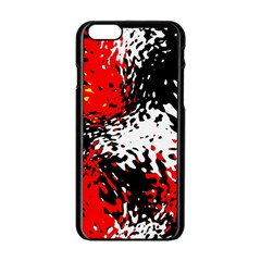 Glass Texture  			apple Iphone 6/6s Black Enamel Case by LalyLauraFLM