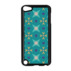 Flowers And Stars Pattern   			apple Ipod Touch 5 Case (black) by LalyLauraFLM