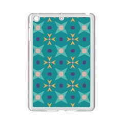 Flowers And Stars Pattern   			apple Ipad Mini 2 Case (white) by LalyLauraFLM