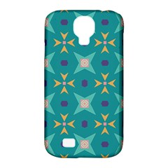 Flowers And Stars Pattern   			samsung Galaxy S4 Classic Hardshell Case (pc+silicone)