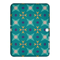 Flowers And Stars Pattern   			samsung Galaxy Tab 4 (10 1 ) Hardshell Case by LalyLauraFLM