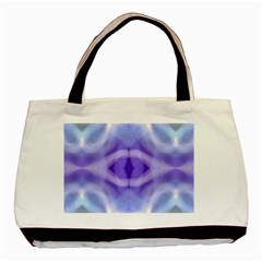 Beautiful Blue Purple Pastel Pattern, Basic Tote Bag (two Sides) by Costasonlineshop