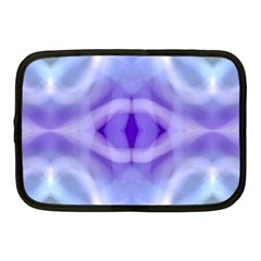 Beautiful Blue Purple Pastel Pattern, Netbook Case (medium)