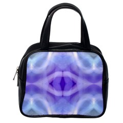 Beautiful Blue Purple Pastel Pattern, Classic Handbags (one Side) by Costasonlineshop