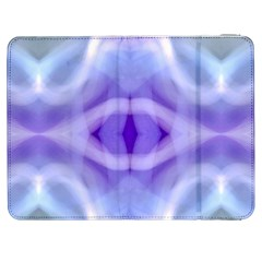 Beautiful Blue Purple Pastel Pattern, Samsung Galaxy Tab 7  P1000 Flip Case by Costasonlineshop