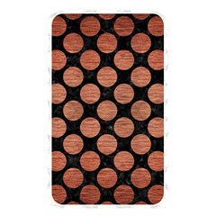 Circles2 Black Marble & Copper Brushed Metal Memory Card Reader (rectangular) by trendistuff