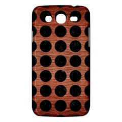 Circles1 Black Marble & Copper Brushed Metal (r) Samsung Galaxy Mega 5 8 I9152 Hardshell Case  by trendistuff