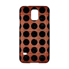 Circles1 Black Marble & Copper Brushed Metal (r) Samsung Galaxy S5 Hardshell Case  by trendistuff