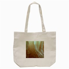 Floating Subdued Orange And Teal Tote Bag (cream)