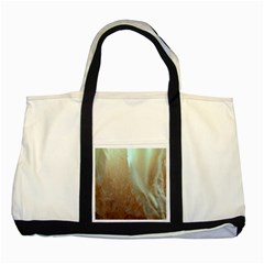 Floating Subdued Orange And Teal Two Tone Tote Bag by timelessartoncanvas
