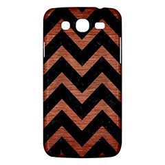 Chevron9 Black Marble & Copper Brushed Metal Samsung Galaxy Mega 5 8 I9152 Hardshell Case  by trendistuff