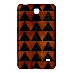 Triangle2 Black Marble & Brown Burl Wood Samsung Galaxy Tab 4 (7 ) Hardshell Case  by trendistuff