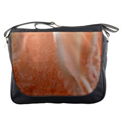 Floating Subdued Peach Messenger Bags by timelessartoncanvas