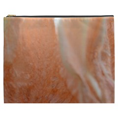 Floating Subdued Peach Cosmetic Bag (xxxl)  by timelessartoncanvas