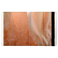 Floating Subdued Peach Apple Ipad 2 Flip Case by timelessartoncanvas