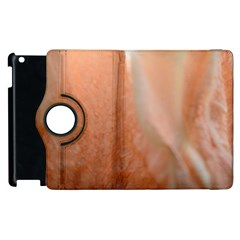 Floating Subdued Peach Apple Ipad 2 Flip 360 Case by timelessartoncanvas
