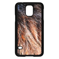Black Red Hair Samsung Galaxy S5 Case (black) by timelessartoncanvas