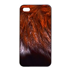 Red Hair Apple Iphone 4/4s Seamless Case (black) by timelessartoncanvas