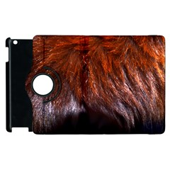 Red Hair Apple Ipad 2 Flip 360 Case by timelessartoncanvas