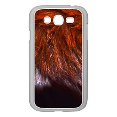 Red Hair Samsung Galaxy Grand Duos I9082 Case (white) by timelessartoncanvas