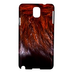 Red Hair Samsung Galaxy Note 3 N9005 Hardshell Case