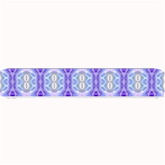Light Blue Purple White Girly Pattern Small Bar Mats