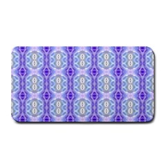 Light Blue Purple White Girly Pattern Medium Bar Mats