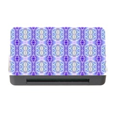 Light Blue Purple White Girly Pattern Memory Card Reader With Cf by Costasonlineshop