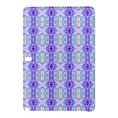 Light Blue Purple White Girly Pattern Samsung Galaxy Tab Pro 12 2 Hardshell Case by Costasonlineshop