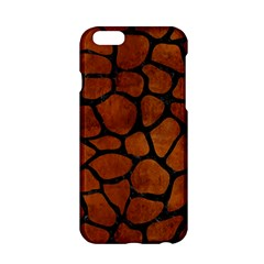 Skin1 Black Marble & Brown Burl Wood Apple Iphone 6/6s Hardshell Case by trendistuff