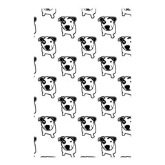 Pit Bull T Bone Graphic Shower Curtain 48  X 72  (small) by ButThePitBull