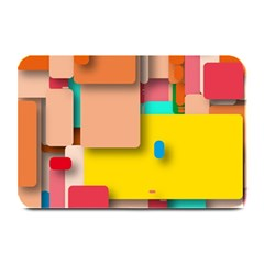 Rounded Rectangles Plate Mats by hennigdesign