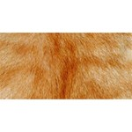 Orange Fur 2 YOU ARE INVITED 3D Greeting Card (8x4)  Back