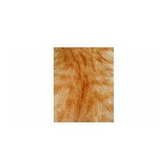 Orange Fur 2 Satin Wrap by timelessartoncanvas
