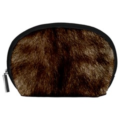 Silber Tiger Fur Accessory Pouches (large)  by timelessartoncanvas