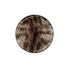 Black And White Silver Tiger Fur Hat Clip Ball Marker (4 Pack) by timelessartoncanvas