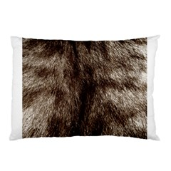 Black And White Silver Tiger Fur Pillow Cases by timelessartoncanvas