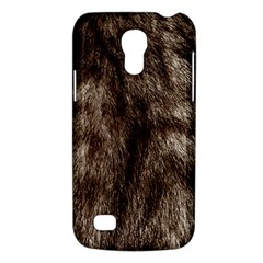 Black And White Silver Tiger Fur Galaxy S4 Mini by timelessartoncanvas