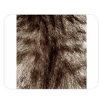 Black and White Silver Tiger Fur Double Sided Flano Blanket (Large)  80 x60 Blanket Front